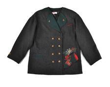 ALPHORN Holiday Cardigan Sweater Size 38/ M Women's Christmas Wool Blend Jacket