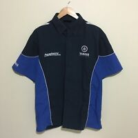 Yamaha Racing Academy Of Off Road Riding Pit Shirt Mens Large