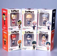 6pc GSC Nendoroid 605 Haikyuu Haikyu Kenma Kozume PVC Action Figure Figurine Toy