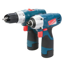 Silverline 264995 Silverstorm 10.8V Drill Driver & Impact Driver Twin Pack 10.8V