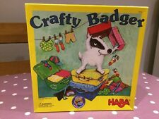 Rare Crafty Badger by Haba Games Family Dice Game Complete Age 4+