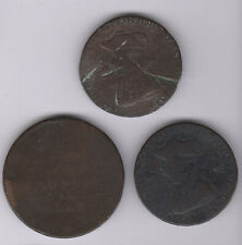 More details for old worn penny & halfpenny tokens | pennies2pounds