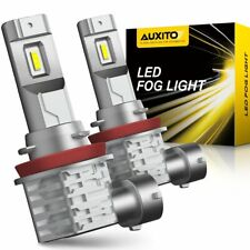 AUXITO H8 H11 H9 Fog Light 6000K 4000LM Super Bright LED Driving Bulb DRL Canbus