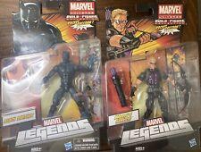 Marvel Legends Rocket Raccoon BAF Black Panther & Hawkeye