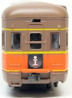 HO AHM ILLINOIS CENTRAL Streamlined OBS Passenger Car GULFPORT W/Tailsign IOB!
