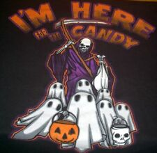 I'M HERE FOR THE CANDY t-shirt Size L Color Black - Free Shipping!!!