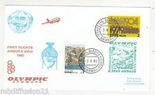 1980//ENVELOPPE**FDC 1°JOUR!!**AVION A 300 B AIRBUS-GRECE**TIMBRE Y/T 1333/67