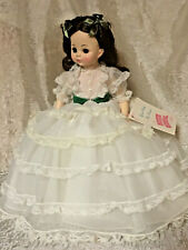 """Madame Alexander Scarlett Ohara Doll #1590 14"""" Gone With The Wind - Gorgeous!!"""