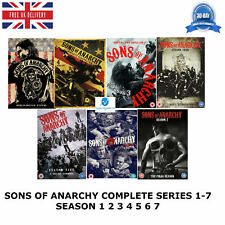 SONS OF ANARCHY COMPLETE COLLECTION 1-7 SERIES 1 2 3 4 5 6 7 NEW UK REGION 2 DVD