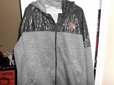 Adidas Louisville Cardinals Football Team Issued Travel Jacket 2X or 3X
