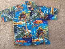 Hawaiian Shirt Vintage Collection M Euc beautiful bright tropical colors