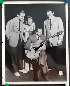 Tommy Dorsey Carmen Mastren Jack Leonard Edythe Wright 1937 Duncan Schiedt JAZZ