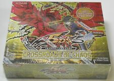 YuGiOh 5Ds Crossroads of Chaos booster box Factory Sealed New English Edition