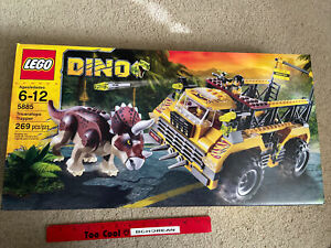LEGO 5885 Dino Triceratops Trapper NEW FACTORY SEALED BOX RETIRED Set 269pcs