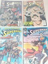 Superman Comics Lot Of 4
