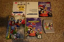 Mario Kart 64 (Nintendo 64 n64, 1997) Complete w/ Reference Card GOOD PC