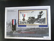 The MILITARY MEDALS Stamp & Cover Collection ~ Second Battle of Ypres