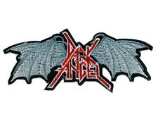 Dark Angel Thrash Metal Patch Iron on Applique Heavy Black Death Occult Punk Emo