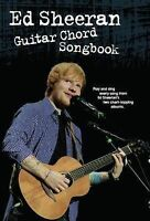 Ed Sheeran: Guitar Chord Songbook, Ed Sheeran, Good condition, Book