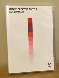Adobe CS4 Design Standard pre-owned Retail GENUINE Full Version Windows