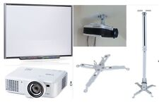 """66"""" SMART BOARD PACKAGE SB660 + HDMI PROJECTOR + ACCESSORIES + CEILING FITTINGS"""