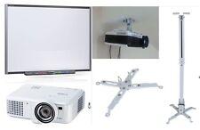 "77"" SB680 SMART Board Interactive Whiteboard HDMI Projector & Ceiling Mount"