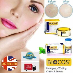 BIOCOS EMERGENCY WHITENING SERUM OR CREAM *Arbutin*Milk Extract*Vitamin E & B5