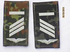 insignes de grade de la BW : CAPORAL, entre autres, Armée de l'air, blanc /