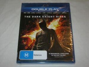 The Dark Knight Rises - 2 Disc - Brand New & Sealed - Region B - Blu Ray