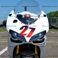simulated headlight decals sticker designed to fit a ducati 848 1098 track body