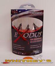 QAD-Exodus Full Blades CROSSBOW Broadhead 125Gr.-BC125-F