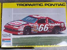 Monogram 2930 Dick Trickle # 66 Tropartic 1990 Pontiac Grand Prix Sealed! 1:24