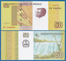 Angola 50 Kwanzas 2012 P 152 UNC Low Shipping! Combine FREE!