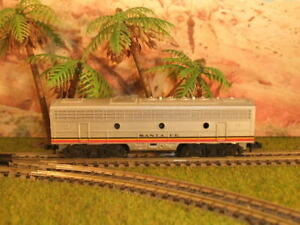 US Diesellok, Santa Fe, Trix, Spur N, B- Unit