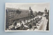 Mannheim - Augustaanlage - Fotokarte, 1930