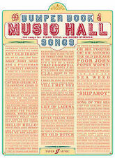 Bumper Book of Music Hall Songs: (Piano, Vocal, Guitar) by Faber Music Ltd...