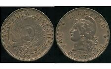 ARGENTINE 2 centavos 1893   TTB+   (1)