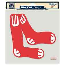 """BOSTON RED SOX COOPERSTOWN 8""""X8"""" COLOR DIE CUT DECAL BRAND NEW WINCRAFT"""