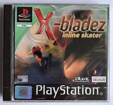 PS1 X-Bladez Inline Skater, UK Pal, Brand New & Sony Factory Sealed