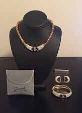 Very Rare 1980 Swarovski Jewelry Set