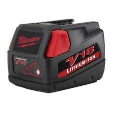2 X Milwaukee V18 18V Li-ion Battery 3.0Ah High Capacity 48-11-1830 F38