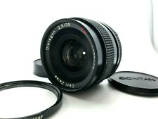 【TOP MINT】Contax Carl Zeiss Distagon T* Lens 35mm F/2.8 MMJ + filter From JAPAN