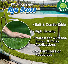 12' Wide RyeGrass Landscape Balcony Artificial Grass (Includes Free Shipping)
