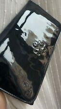 LK BENNETT Bag FROME NAVY BLUE Dusky Patent Leather Clutch NEW LTD Chic FAB RARE