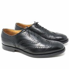 Church's Chetwynd Black Leather Wing tip Oxford Shoes - Size  10US/9UK - England