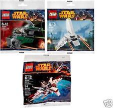 3x LEGO STAR WARS *2014* Jedi-Jäger ARC-170 Imperiale Fähre 30244 30246 30247