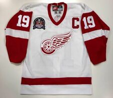 STEVE YZERMAN DETROIT RED WINGS AUTHENTIC NIKE 1997 STANLEY CUP JERSEY SIZE 44