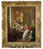 18th Century French Rococo Old Master Oil Painting Francois Boucher XVIII