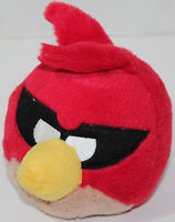 Commonwealth ROVIO ANGRY BIRDS RED BANDIT BIRD Stuffed Plush Animal SOFT TOY