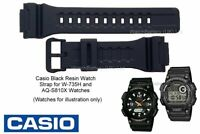 Genuine Casio Watch Strap Band for W-735H, W-736H, AQ-S810W, AEQ-110W & AEQS810W